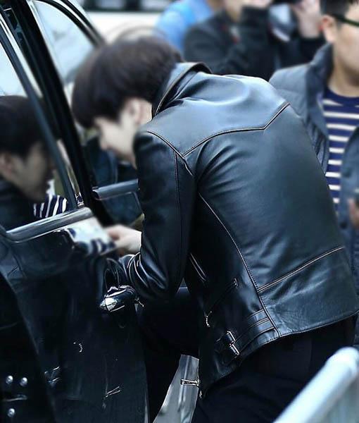 BTS Suga Leather Jacket