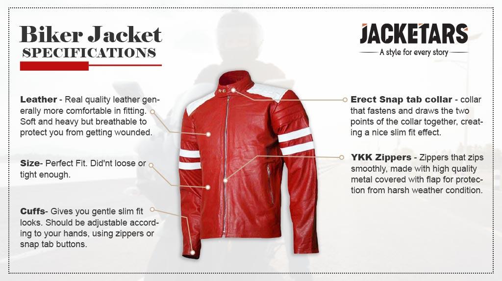 Motorcycle Biker Jackets Specifications In Details
