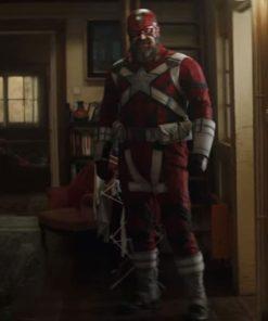 Black Widow 2021 Red Guardian Jacket