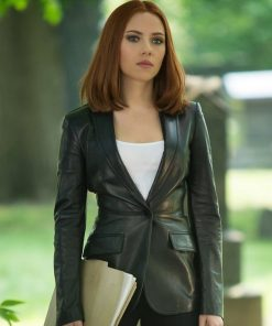 Natasha Romanoff Captain America The Winter Soldier Black Blazer