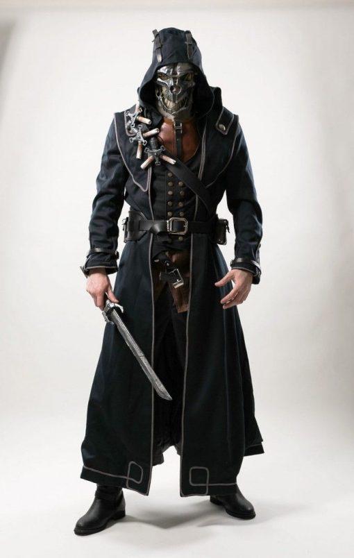 Corvo Attano Dishonored Hoodie Coat