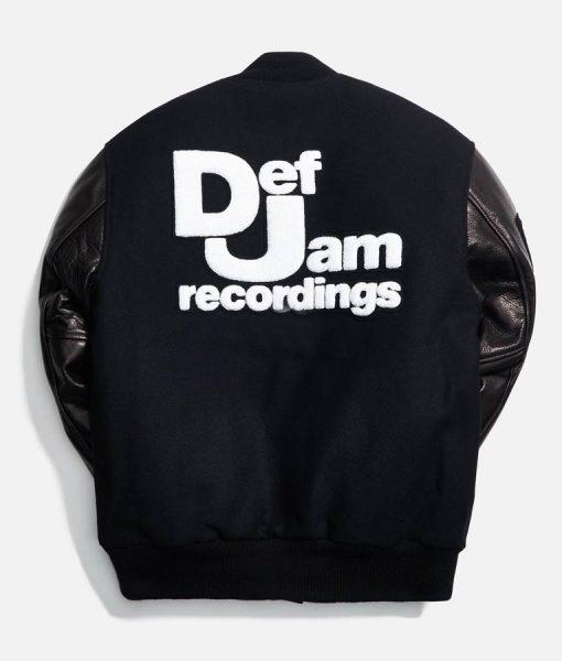 Def Jam Letterman Varsity Jacket