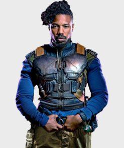 Michael B. Jordan Black Panther Vest