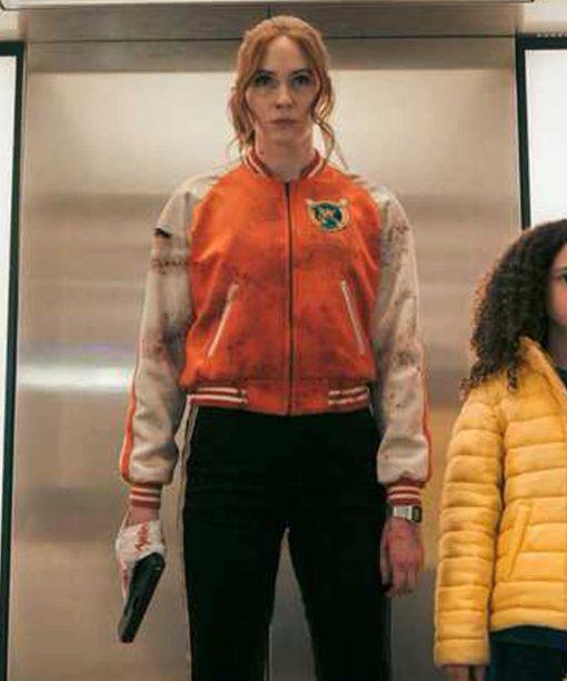 Gunpowder Milkshake Sam Orange Jacket