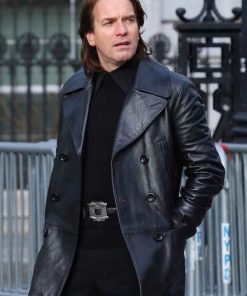 Halston Ewan McGregor Mid-length Coat