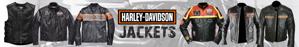 Harley Davidson jackets banner