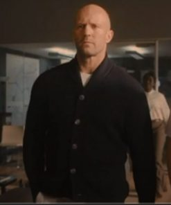 Jason Statham Wrath of Man Cardigan