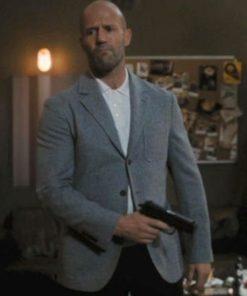 Jason Statham Wrath of Man Grey Coat