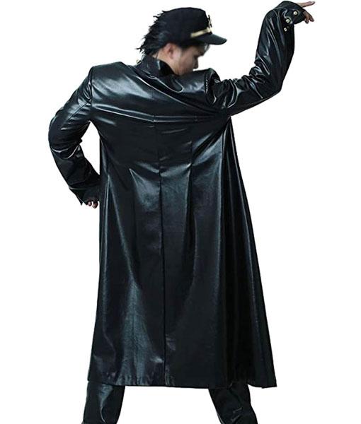Jotaro Kujo JoJo's Bizarre Adventure Leather Coat