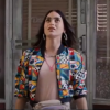 Venessa In the Heights 2021 Printed Cotton Jacket