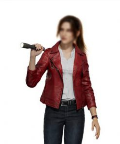 Resident Evil Infinite Darkness Claire Redfield Leather Jacket