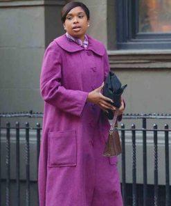 Respect-2021-Jennifer-Hudson-Purple-Coat