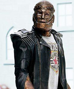 Robotman Doom Patrol Black Leather Jacket