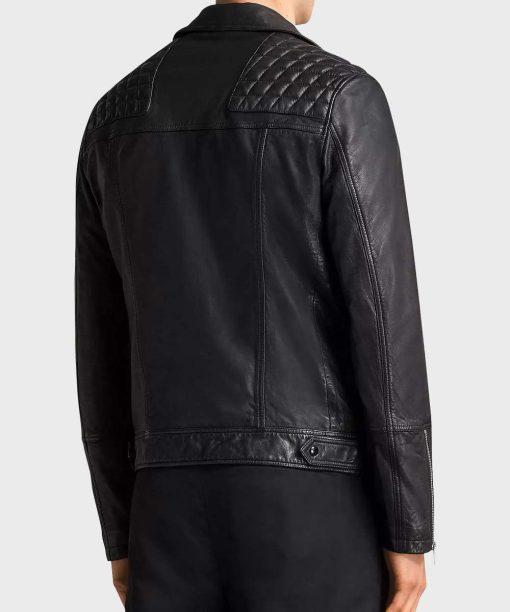 SexLife Brad Simon Black Leather Jacket
