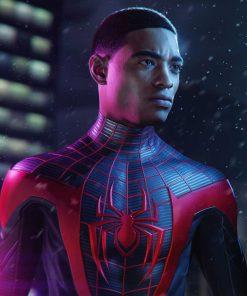 Spider-Man Miles Morales Leather Jacket 1