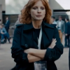 Jessica Chastain The 355 Mace Trench Coat