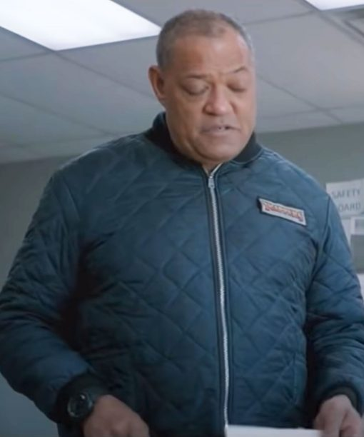 The Ice Road Goldenrod Quilted Jacket