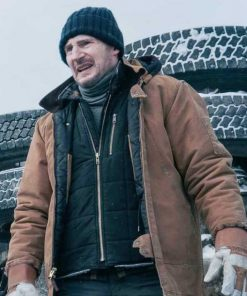 The Ice Road Mike Brown Puffer Jacket