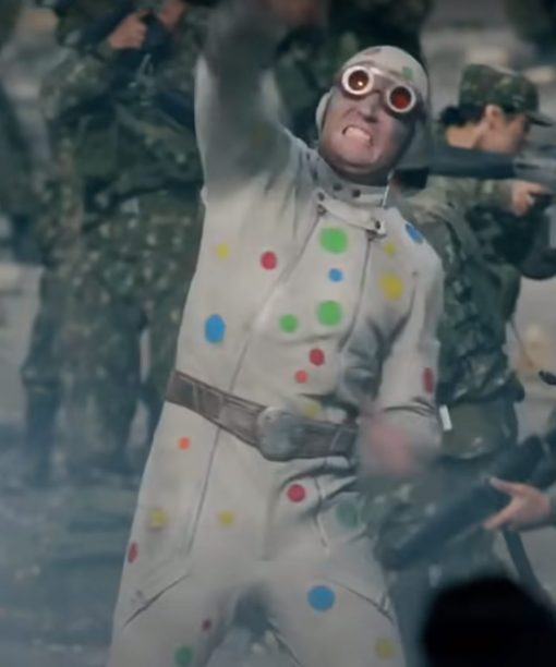 The Suicide Squad Polka-Dot Man Leather Jacket