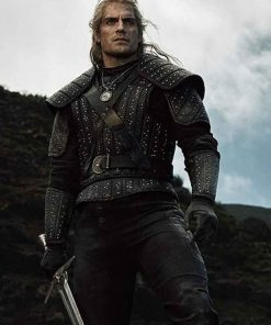 The Witcher Geralt of Rivia Leather Jacket