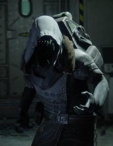 XUR Destiny 2 Leather Hoodie Coat
