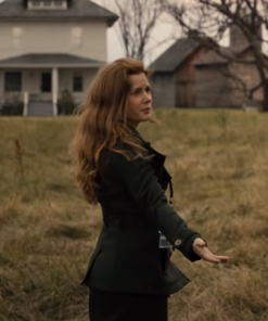 Justice League Lois Lane Black Trench Coat