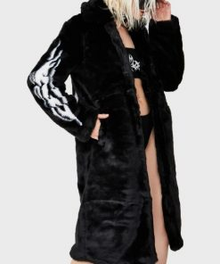 Fallen Angel Fur Trench Coat