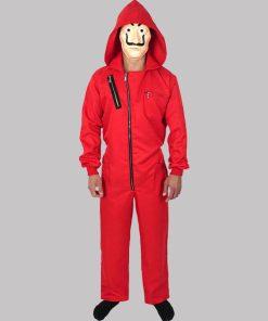 Money Heist La Casa De Papel Red Costume