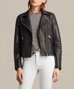Fear The Walking Dead S06 Alicia Clark Black Leather Jacket