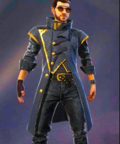 Alok-Free-Fire-Battlegrounds-Leather-Coat