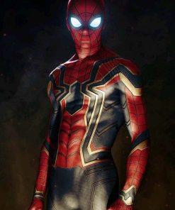 Armor Spiderman Avengers Infinity War Jacket