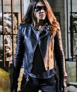 Arrow S05 Dinah Drak Leather Jacket-min