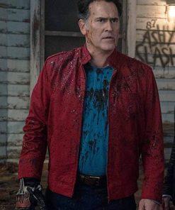 Ash VS Evil Dead Bruce Campbell Cotton Jacket