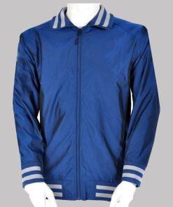 Ben Stiller The Watch Blue Bomber Jacket