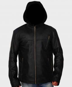 Chicago P.D. Jay Halstead Black Jacket with Hood