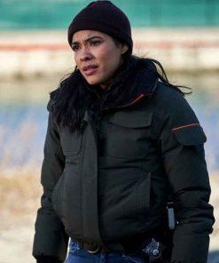 Chicago P.D. Season 7 Vanessa Rojas Bomber Jacket