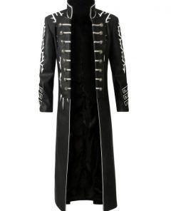Devil May Cry 5 Vergil Leather Coat