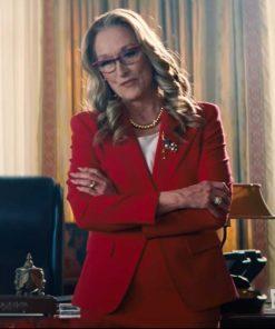 Don't Look Up President Janie Orlean Blazer