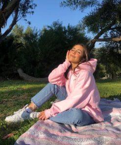 Women's GRL Pwr Pink Pullover Hoodie