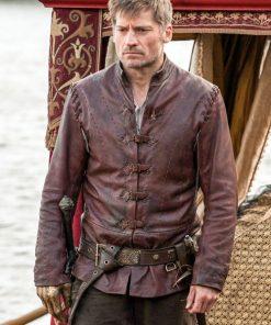 Jaime Lannister Game Of Thrones Season 5 Leather Costume Jacket