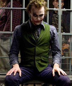 Joker Fancy Joaquin Phoenix Arthur Fleck Green Vest-min