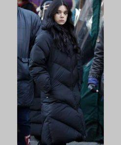 Kate Bishop Hawkeye Black Puffer Coat