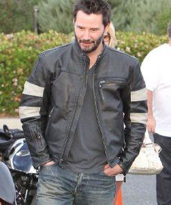 Keanu Reeves Motorcycle Leather Jacket