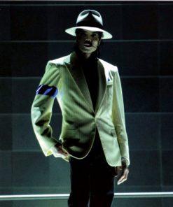 MJ Michael Jacksons Off White Blazer