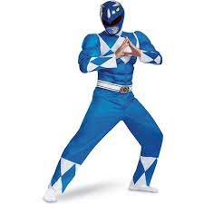 Mighty Morphin Power Ranger costumes for Men Classic Muscle