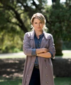 My Life Is Murder Lucy Lawless Trench Coat-min