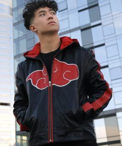 Akatsuki Uchiha Itachi Cosplay Costume Jacket