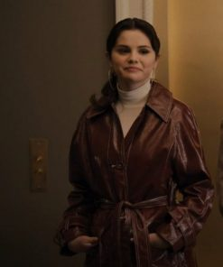 Only-Murders-in-the-Building-Mabel-Brown-Leather-Coat