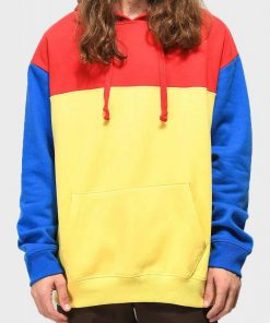 Oversized Color Pullover Hoodie