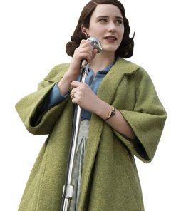 The Marvelous MRS. Maisel Green Wool Coat.
